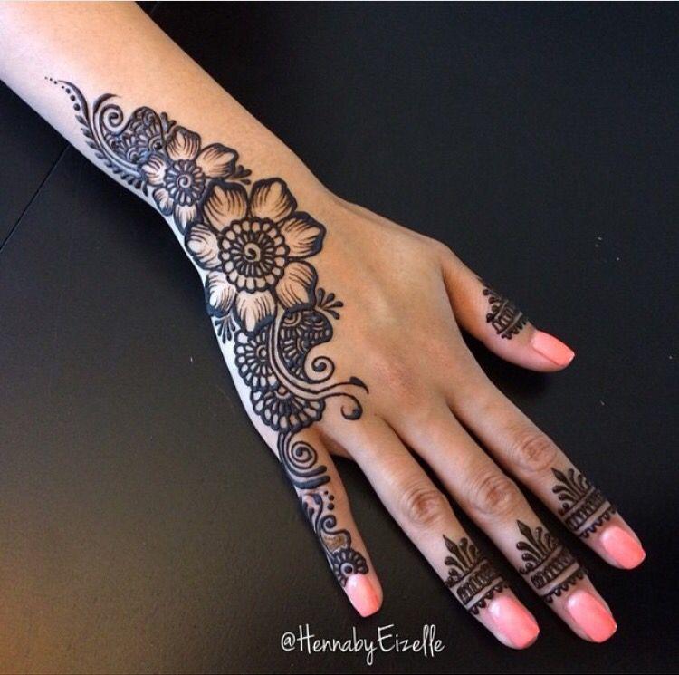Finger Henna Designs Mehndi Designs For: Pin By HIBAH NADEEM On Top Designs