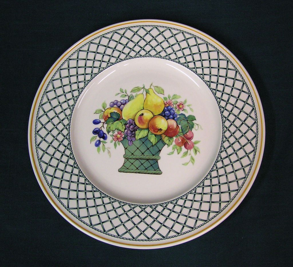 Dinnerware Villeroy Boch Basket Pattern Vintage Collectibles  Village Antiques LLC : villeroy and boch dinnerware patterns - Pezcame.Com