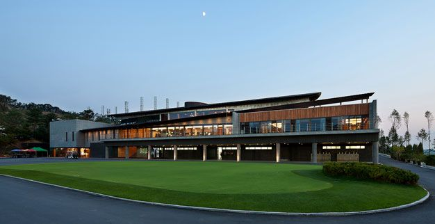 Seowon Golf Clubhouse Design By ITM And Itami Architects Golf