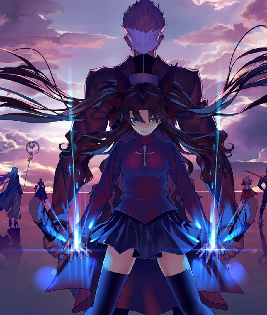 Fate Stay Night Tohsaka Rin Archer Jc9sk9x Fate Stay Night