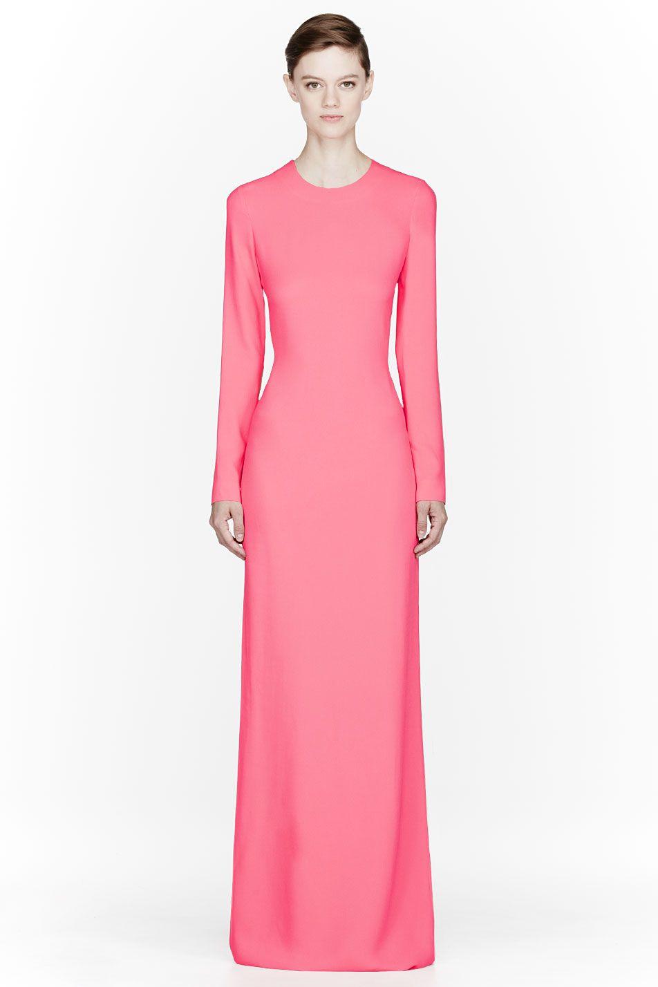 FASHION shopping | Stella Mccartney Cady Pillar Dress, $2,880 | My ...