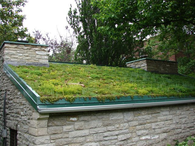 Civic Garden Center Cottage Green Roof