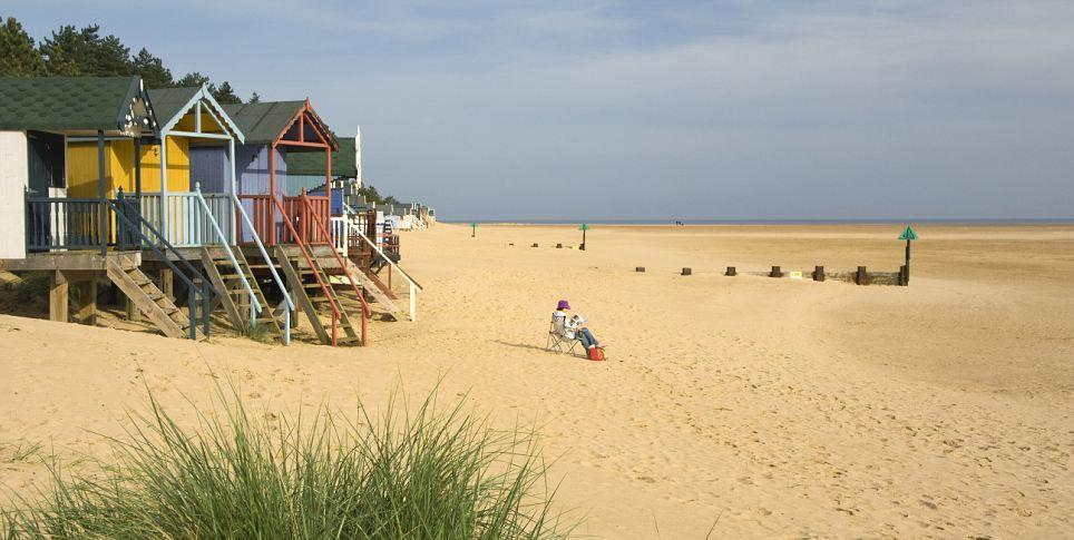 Nudist beach southwold