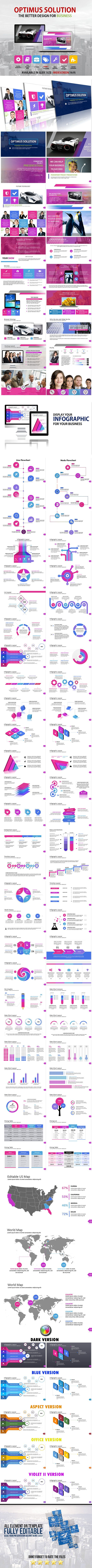 Optimus Powerpoint Template  Template Font Logo And Logos