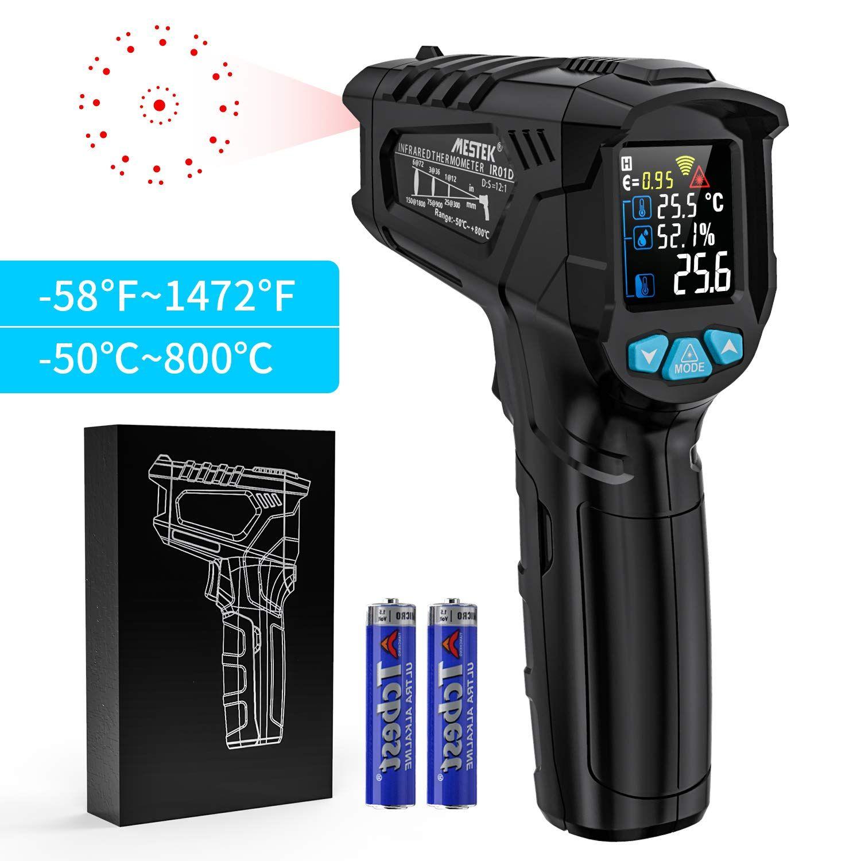 Thermomètre infrarouge Temperature Laser MESTEK Sans ...