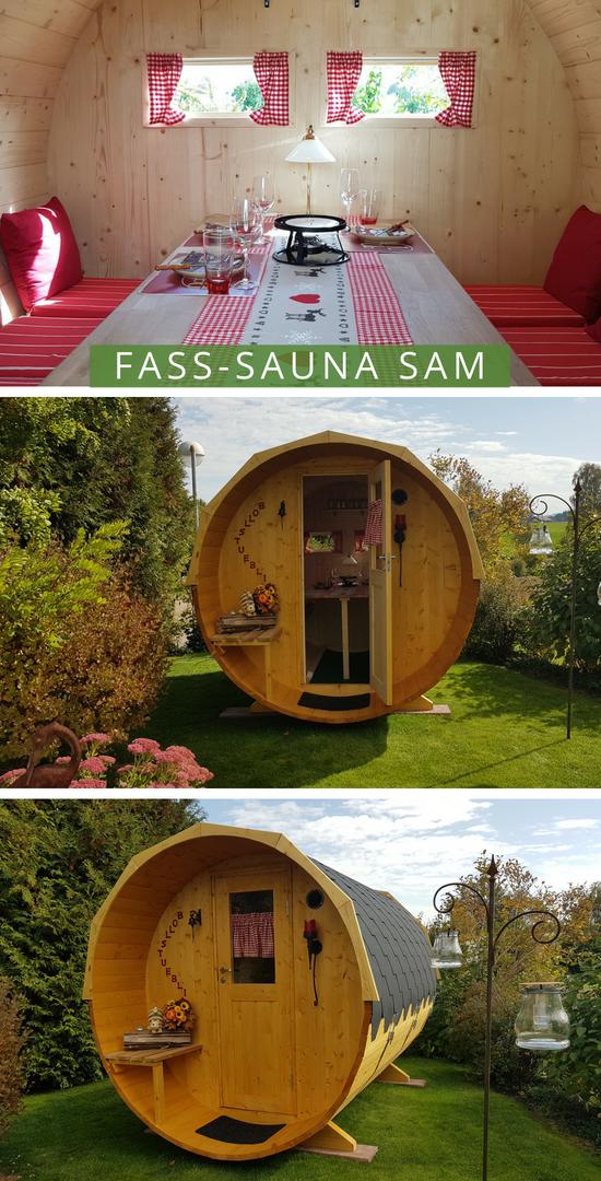 Finntherm Fass Sauna Sam Eine Sauna Für Den Garten Outdoor Decor