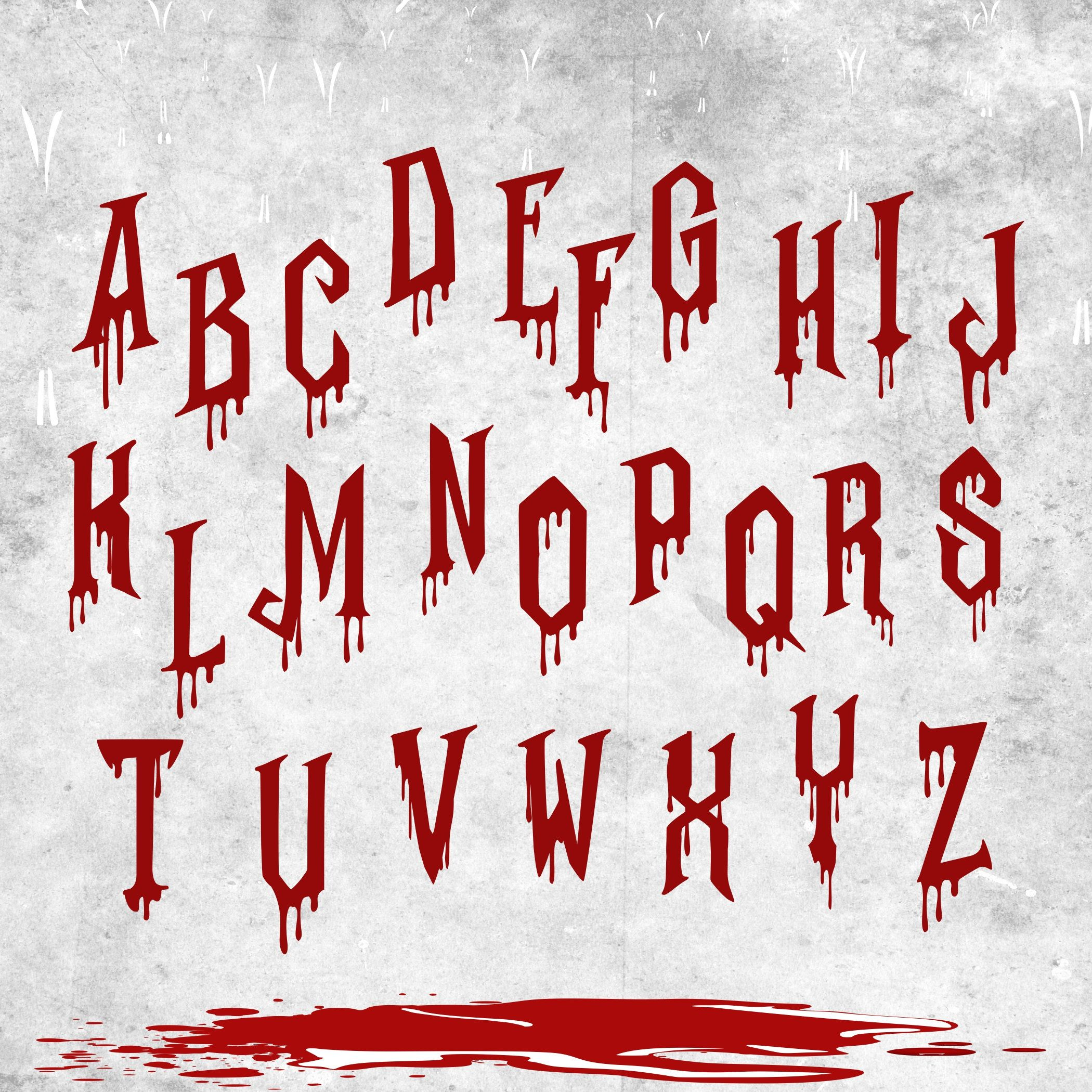 Download Dripping Font SVG FILE Dripping Font cricut Dripping ...