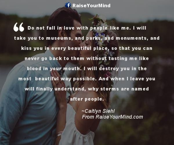What It Takes To Fall In Love
