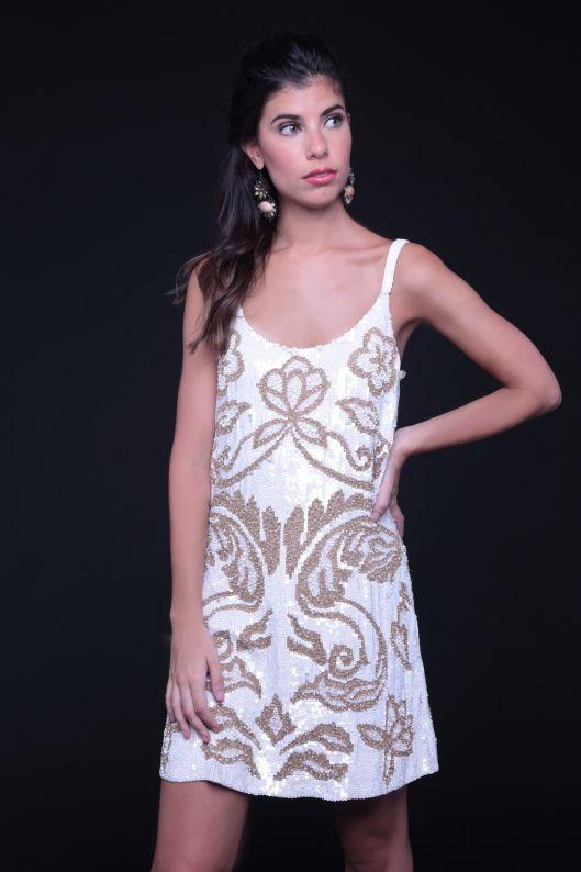 Vestidos de fiesta de seda natural