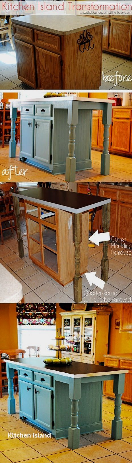 Diy Guide For Making A Kitchen Island 1 Diy Kitchen Island Diy Kitchen Home Diy