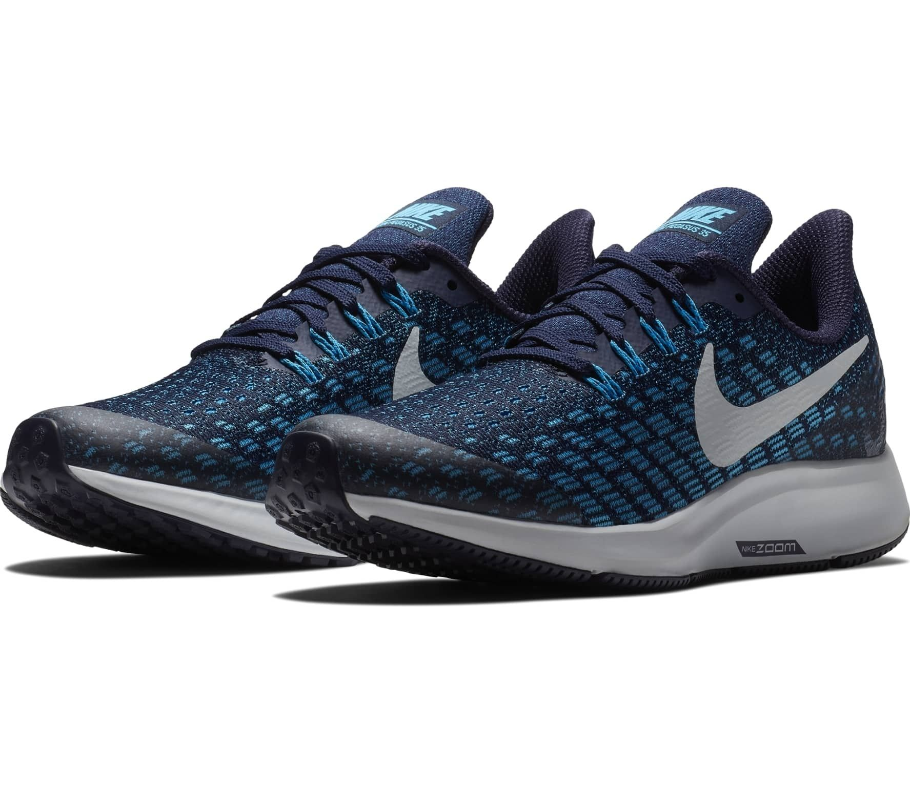 Nike Air Zoom Pegasus 35 Children running shoes (dark blue