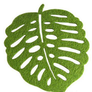 Felt Placemats Pattern | Leaf Felts Placemat