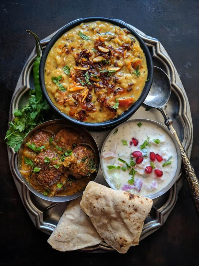 Our 30 Day Calendar of Indian Meals and recipes shows you how to cook more and enjoy family-friendly meals that come together quickly and deliciously via funfoodfrolic.com