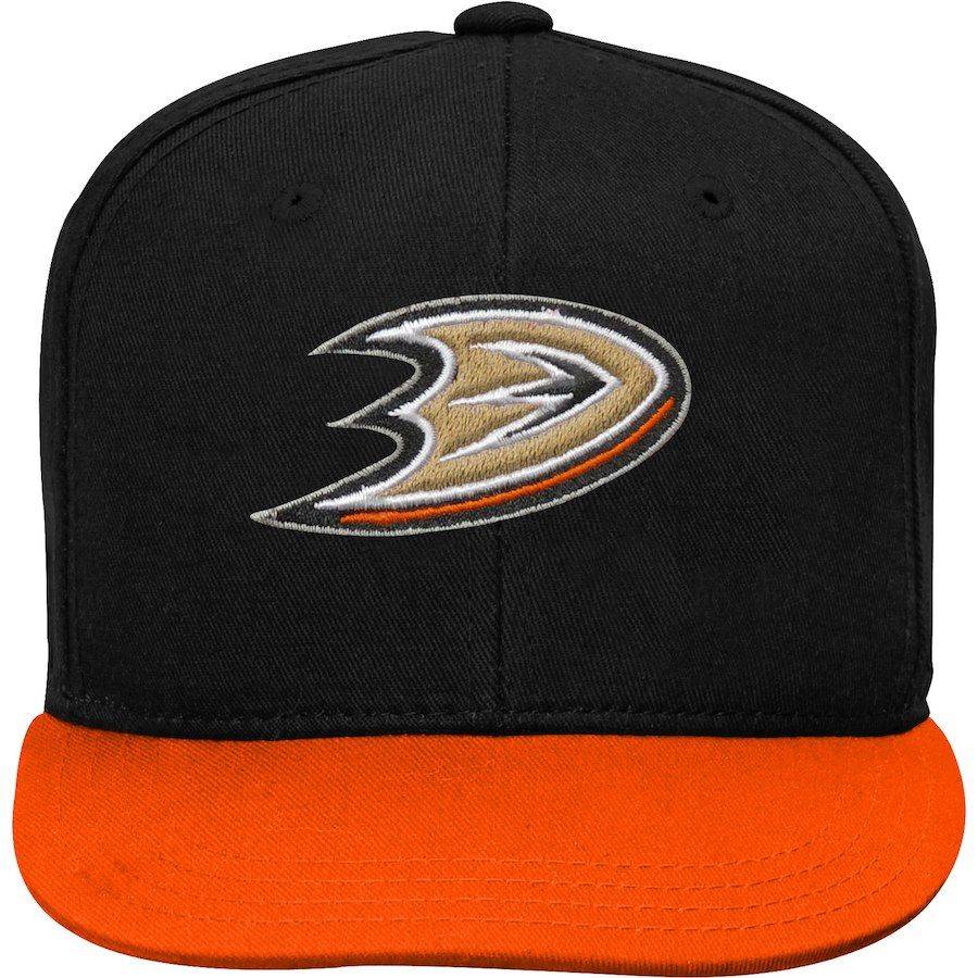 low priced 79fb4 dfb11 Youth Anaheim Ducks Black Orange Two-Tone Flatbrim Snapback Adjustable Hat,  Your Price   19.99