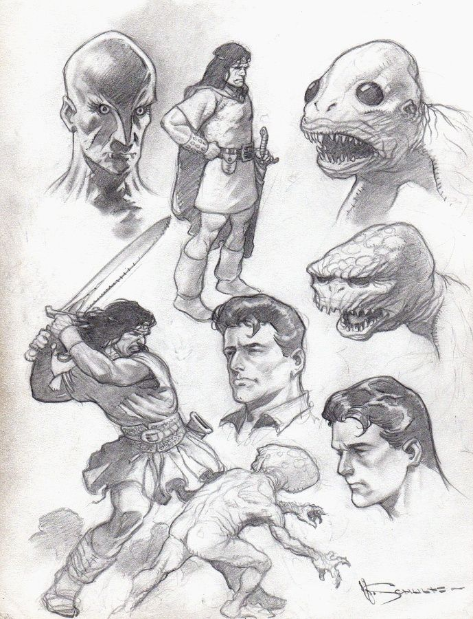 Mark Schultz Comic Art