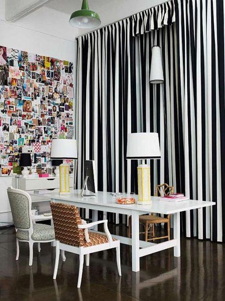 Illusive Print Bold Stripes The Aestate Home Decor