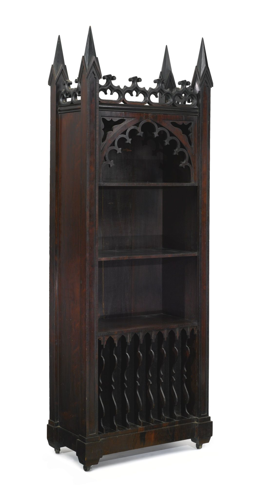 A Gothic Revival Carved Rosewood Music New York