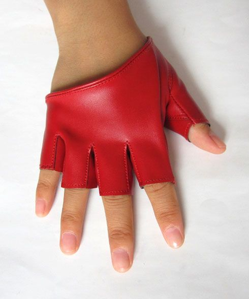 1cf2b767d Faux Leather Fingerless Gloves I don't know why, but I want some of these!