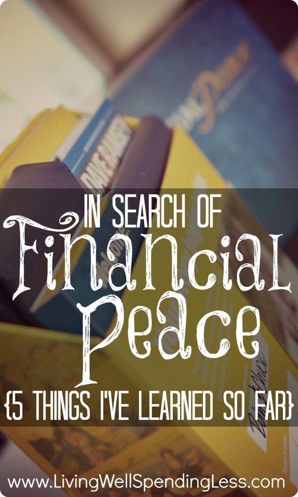 Financial Peace Money Saving Tips Financial Peace