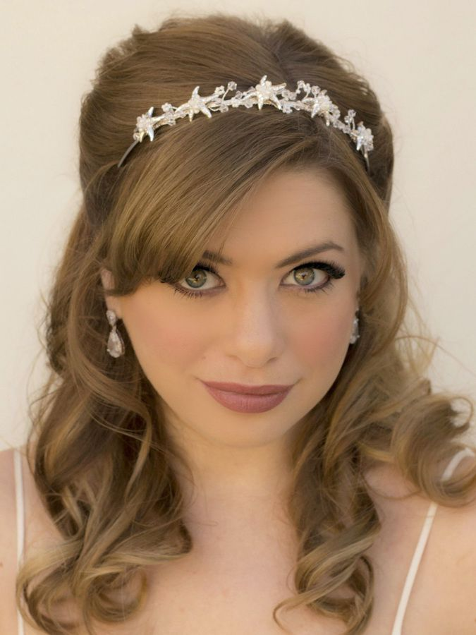 Starfish Bridal Headband Tiara