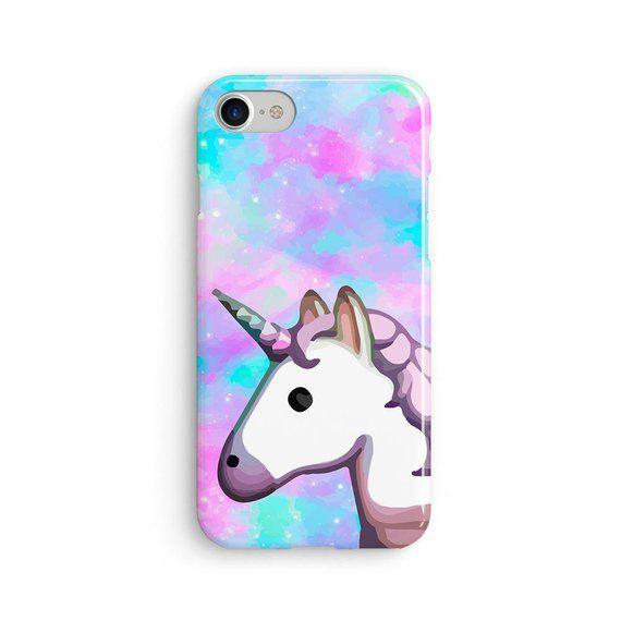 Unicorn Emoji Space Rainbow Iphone X Case Iphone 8 Case Etsy Unicorn Iphone Case Unicorn Phone Case Iphone Cases Cute