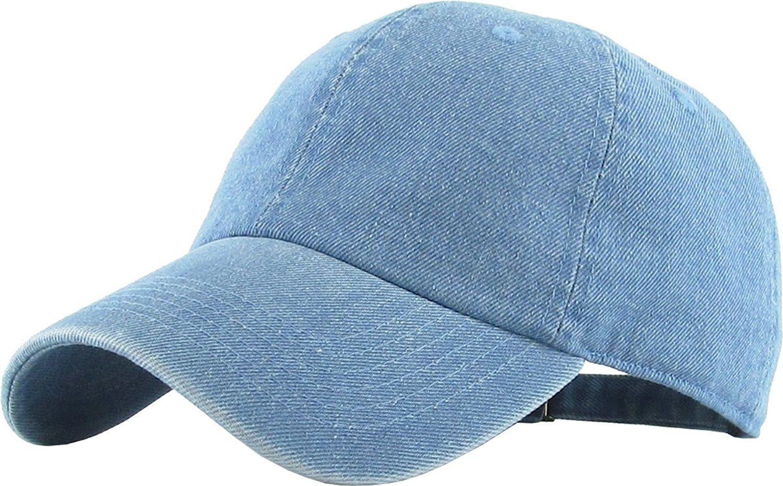 69493a7c Amazon.com: KB-LOW MDM Classic Cotton Dad Hat Adjustable Plain Cap ...