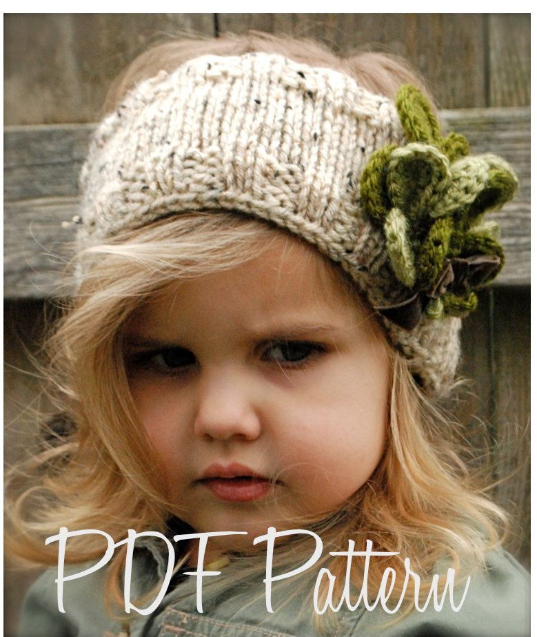 Knitting Pattern The Shamrynn Warmer Toddler Child Adult Sizes