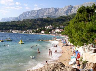 Podgora Beach Croatia Podgora Beach In Dalmatia Photo By Jure Sucur Croatia Adventure Tours Dalmatia Croatia