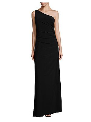 a4186400f86 Laundry by Shelli Segal One-Shoulder Matte Jersey Dress | Roe ...