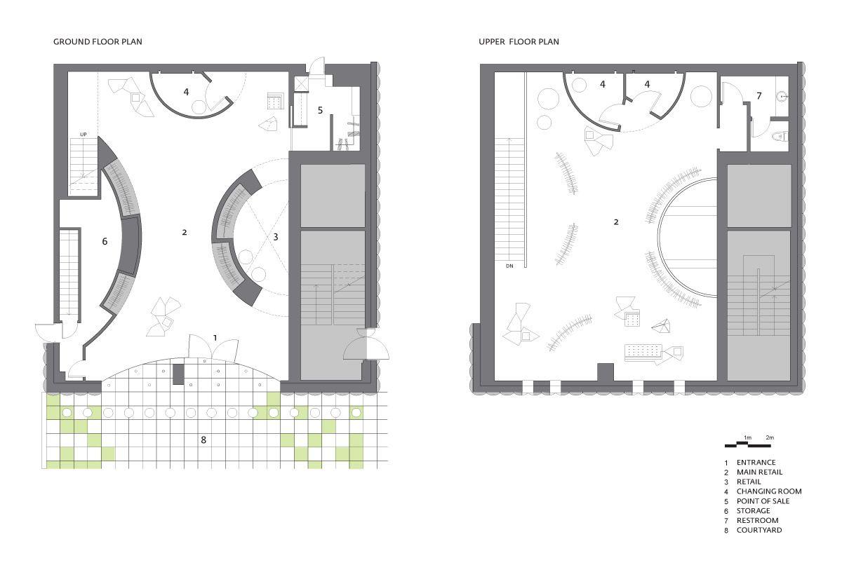 Clothing Store Simple Floor Plan Httparchinectcomfeaturesarticle L Fa9eb200c8195234 Jpg 1 200 816 Pixels Floor Plans Building Plans House Floor Plan Design