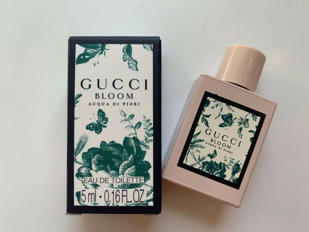b4aadc53e3 Gucci Bloom Acqua Di Fiori EDT 16 fl oz 5ml Deluxe Travel Splash | Health &  Beauty, Fragrances, Women's Fragrances | eBay!