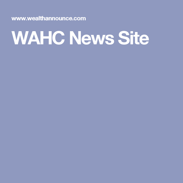 WAHC News Site