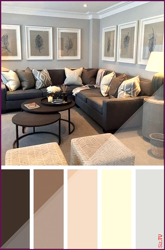 sample earth tone paint colors for living room photos on sample color schemes for interiors id=97494