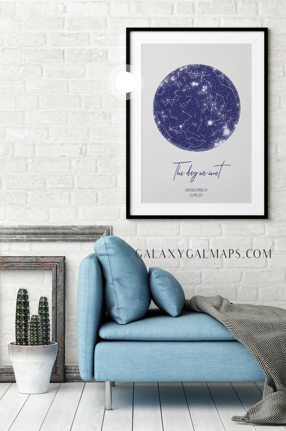 Custom Star Map Astrology Poster Wall Art You Are Braver Than You Believe Print 2018 Graduation Gift For He Star Map Picture On Wood Personalized Map Art