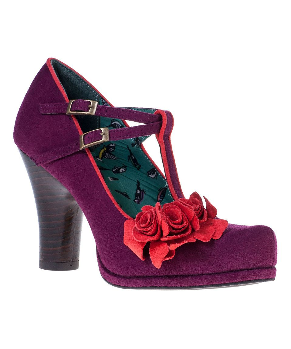 This Plum Uma Pump by Ruby Shoo is perfect! #zulilyfinds
