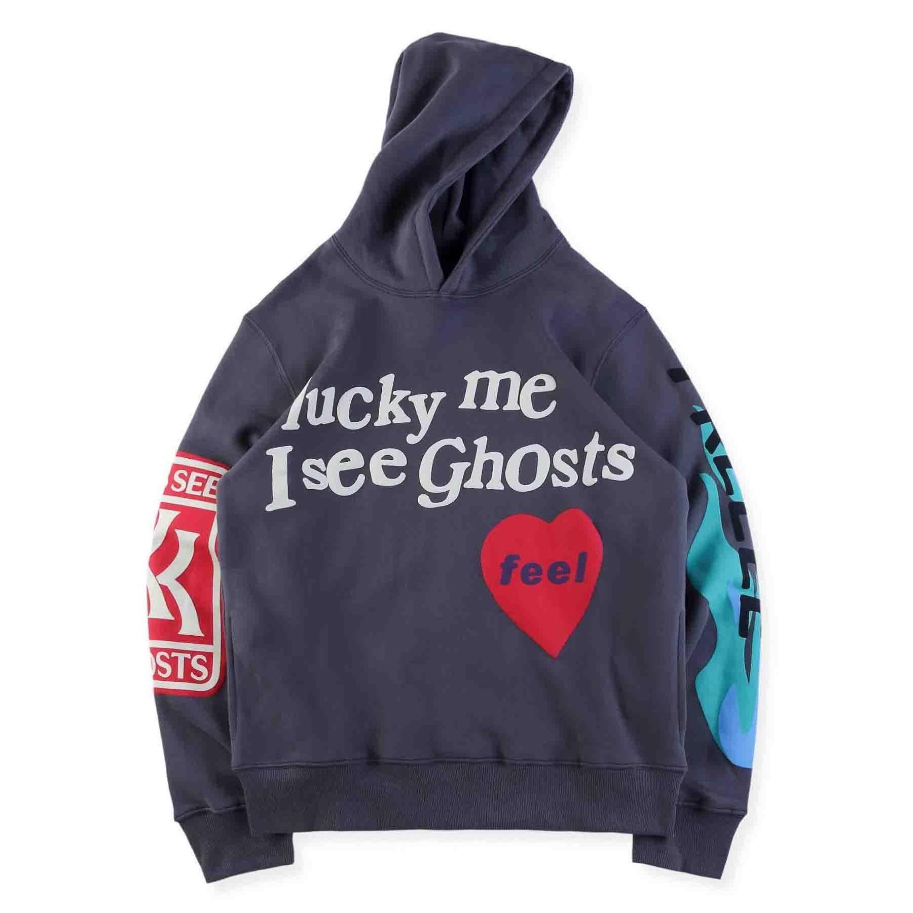 Kids See Ghosts Freeee Hoodie Camp Flog Gnaw Kanye West Kids Hoodies
