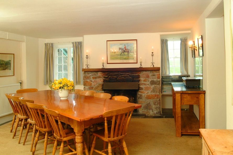 Efford House Dining Room Better Known As Barton Cottage From Sense And Sensibility Dining Room Dining Home Decor