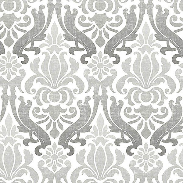 Nu2112 Trellis Peel And Stick Wallpaper By Nuwallpaper Nuwallpaper Damask Wallpaper Silver Wallpaper