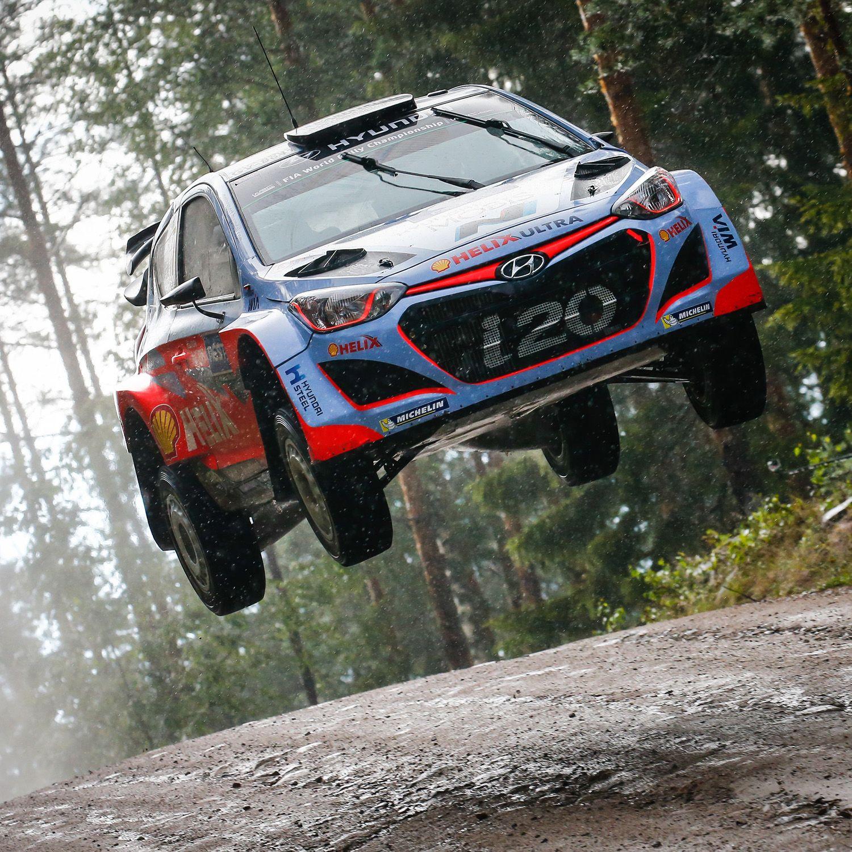 2015 #WRC #핀란드 #랠리 #i20! 모래폭풍과 거친 바위를 헤치며 거침없이 달린다