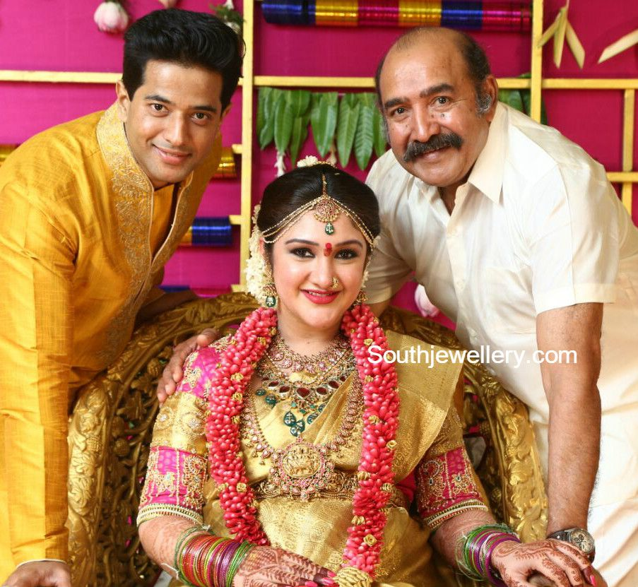 Sridevi Vijaykumar S Baby Shower Jewellery Indian Baby Showers Indian Bridal Shower Baby Shower Jewelry