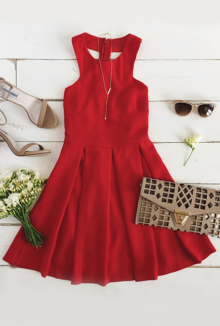Red summer dress pinterest url good style dresses pinterest
