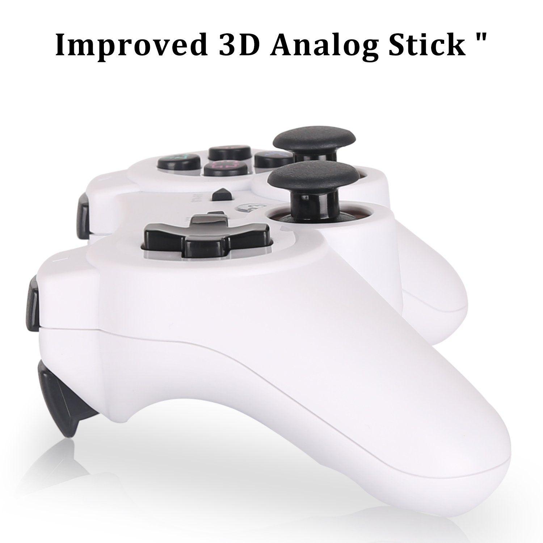 YU33 PS3 Controller Wireless 2 Pack - Dualshock 3 Games