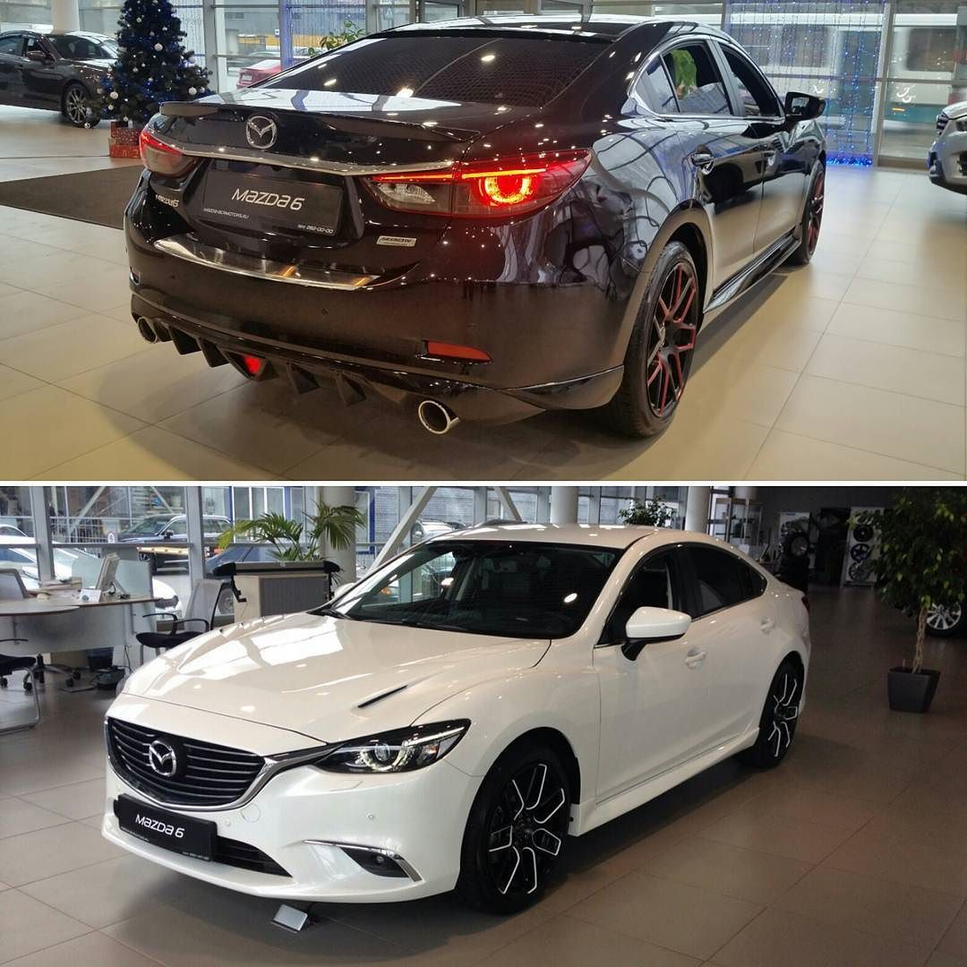 Black Or White Mazda Mazda6 Mazdabcrmotors Bcrmotors Nino Ancars