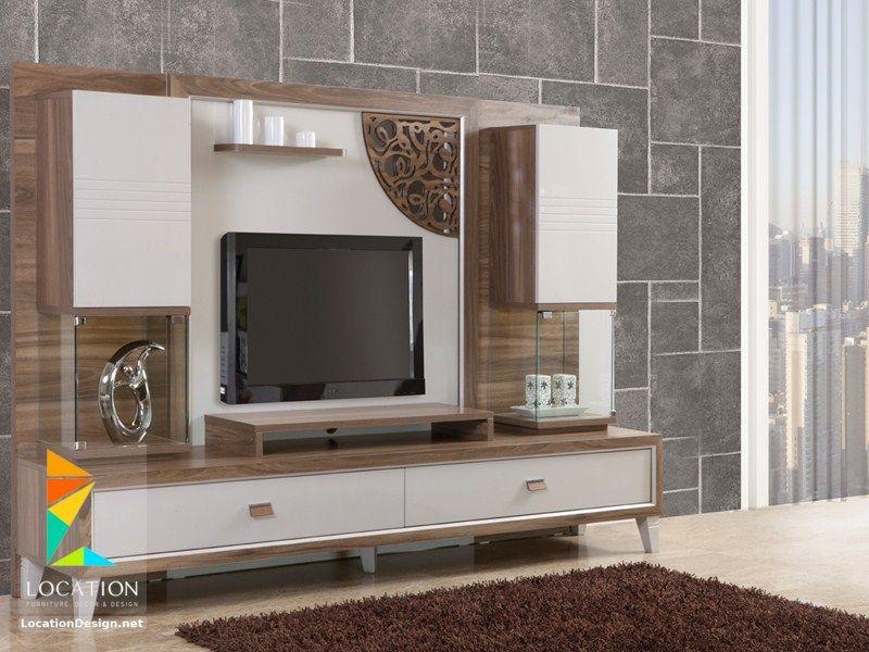 احدث اشكال مكاتب شاشات بلازما Living Room Tv Cabinet Designs Wall Tv Unit Design Wall Unit