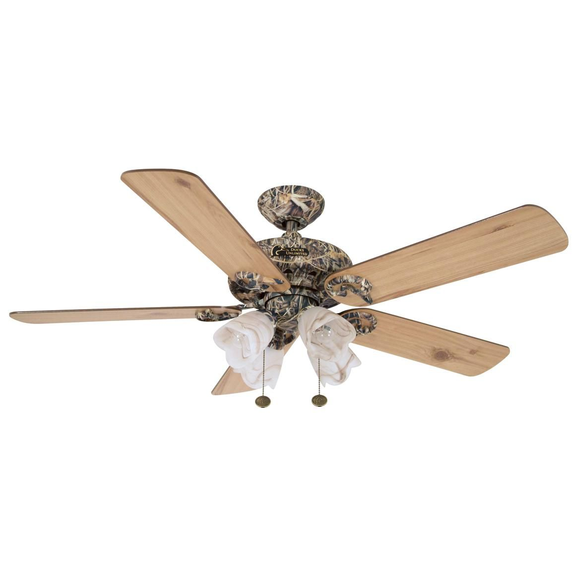 Ducks Unlimited MAX4 Camouflage Ceiling Fan with with