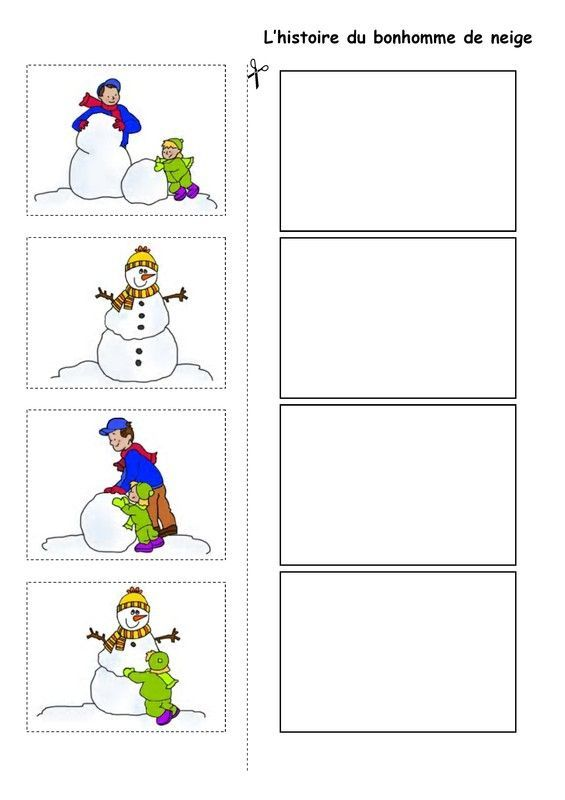 L 39 histoire du bonhomme de neige logische reeks ecole pinterest le bonhomme de neige le - Activite hiver maternelle ...