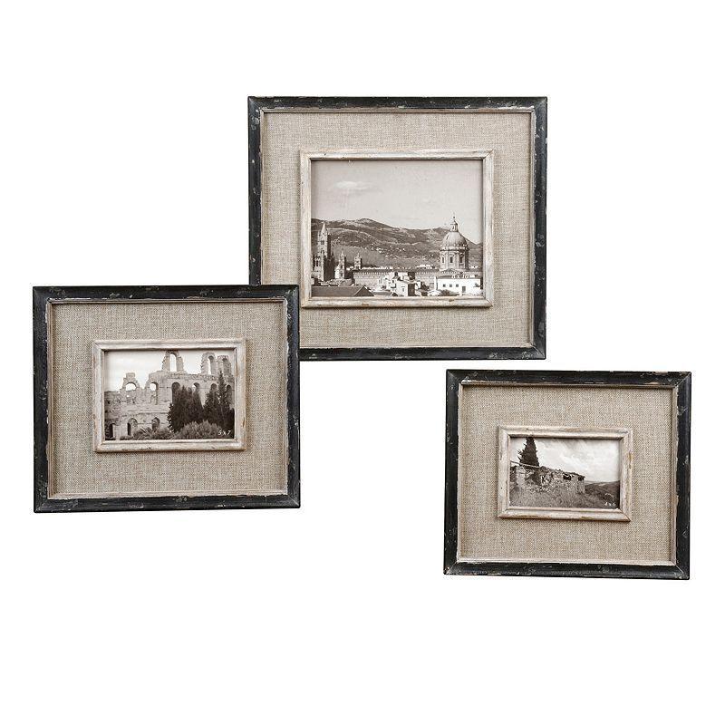 Kalidas 3-piece Frame Set, Black | Pinterest | Products
