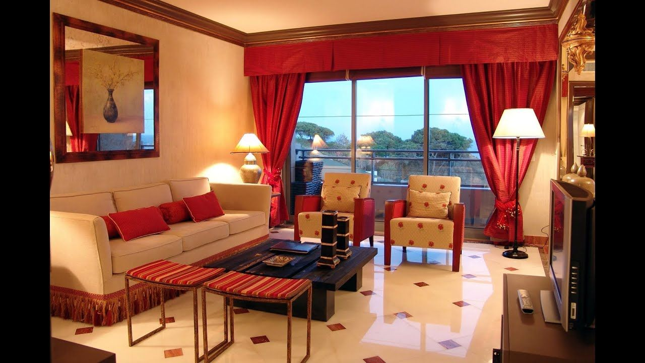 30 Red Living Room Ideas 2020 For Vibrant Atmosphere