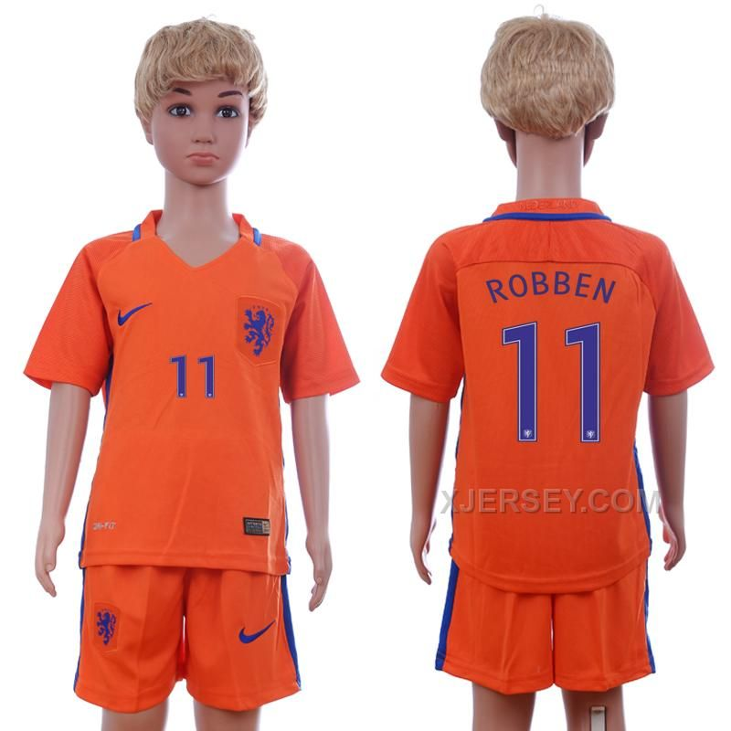http://www.xjersey.com/201617-netherlands-11-robben-home-youth-soccer-jersey.html 2016-17 NETHERLANDS 11 ROBBEN HOME YOUTH SOCCER JERSEY Only 33.11€ , Free Shipping!