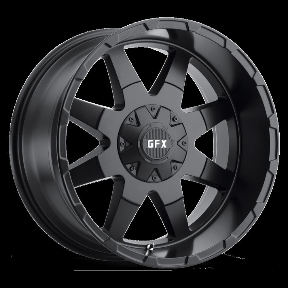G-FX TR-12 Wheels | Multi-Spoke Painted Truck Wheels